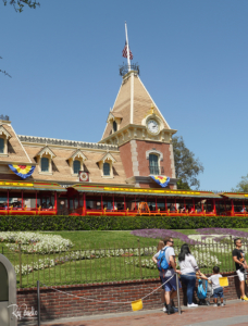 Disneyland Entrance in 2019